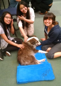 "UCSC ""Pause for Paws"""